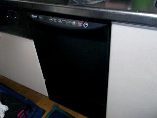 リンナイ 食洗機 RKW-453C 施工後
