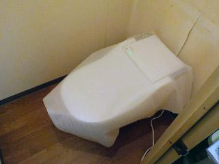 パナソニック トイレ XCH1302RWS 施工後