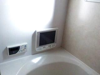 リンナイ 浴室テレビ DS-1201HV 施工前