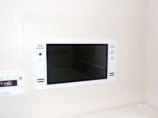 ツインバード 浴室テレビ VB-J16W 施工後