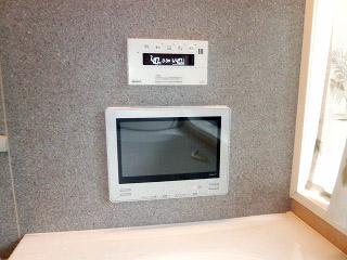 ツインバード 浴室テレビ VB-BS121S 施工後