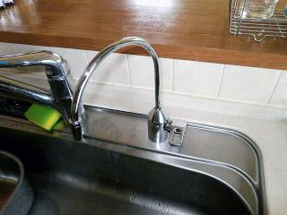 キッツマイクロフィルター 浄水器 OSS-VH4 施工後