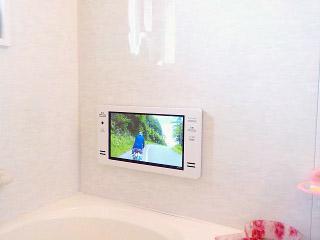 ツインバード 浴室テレビ VB-BS163 施工後