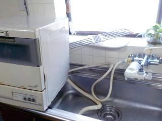 パナソニック 食洗機 NP-TR8-W 施工前