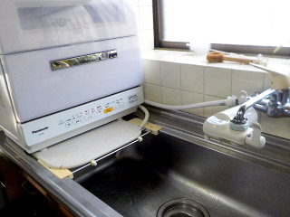 パナソニック 食洗機 NP-TR8-W 施工後