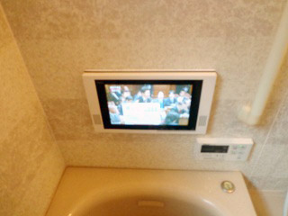 リンナイ 浴室テレビ DS-1201HV-A 施工後
