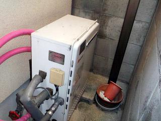 ノーリツ ガス給湯器 GT-C2452SARX-2-BL-13A-20A 施工前