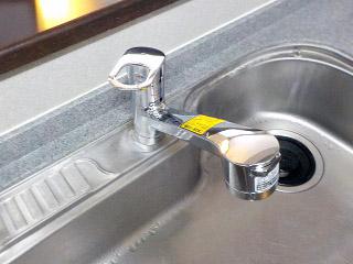 TOTO キッチン水栓 TKGG32EB 施工後