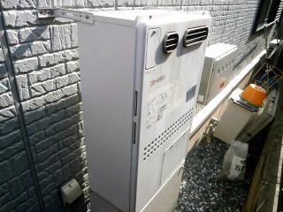 ノーリツ ガス給湯器 GTH-C2451AW3H-BL-13A-20A 施工前