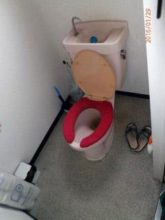 パナソニック トイレ XCH1101RWS 施工前