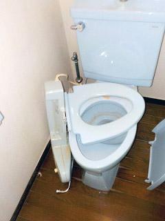 イナックス トイレ TSET-A4-WHI-0-R 施工前
