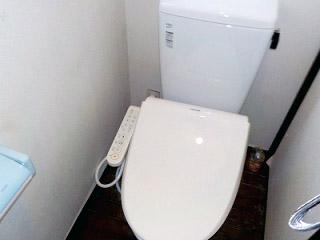 イナックス トイレ TSET-A4-WHI-0-R 施工後