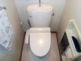 TOTO トイレ TSET-M-IVO-1 施工後