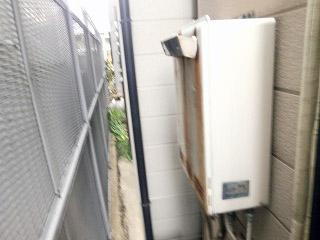 リンナイ ガス給湯器 RUF-E2008SAW-13A 施工前
