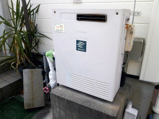 リンナイ ガス給湯器 RFS-A2003SA-13A 施工前