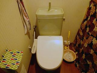 TOTO トイレ CS230B–SH231BA-NW1 施工前