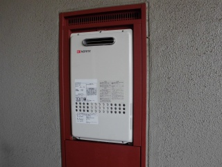 ノーリツ ガス給湯器 GQ-1627AWX-DX-BL-13A-15A 施工後