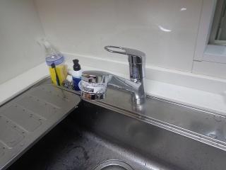 TOTO キッチン水栓 TKGG32EBR 施工後