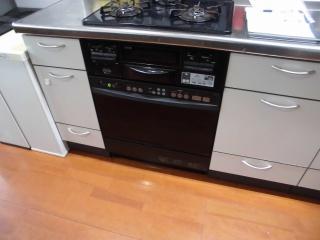 ノーリツ ガスオーブンレンジ NDR514E-13A 施工後