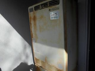 ノーリツ ガス給湯器 GTH-C1650AW-BL-13A-15A 施工前
