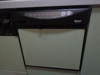 リンナイ 食洗機 RKW-404A-SV 施工前