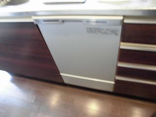 パナソニック 食器洗乾燥機 NP-45MC6T 施工後