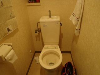 LIXIL トイレ TSET-LC1-IVO-1-155 施工前