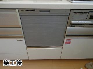 リンナイ 食器洗い乾燥機 RKW-404C-SV-KJ 施工後