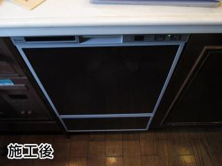リンナイ 食器洗い乾燥機 RKWR-F402C-SV 施工後