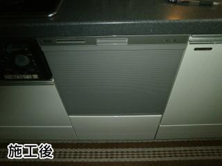 リンナイ 食洗機 RKW-404A-SV 施工後