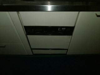リンナイ 食洗機 RKW-C401C-A-SV 施工前