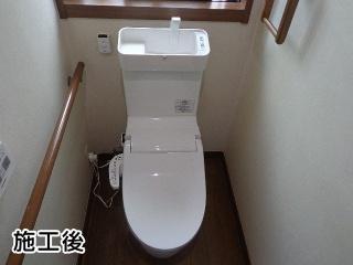 パナソニック トイレ アラウーノV XCH3014WST 施工後