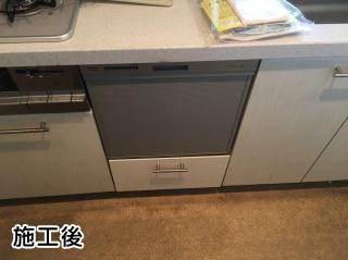 リンナイ 食器洗い乾燥機 RKW-404A-SV 施工後