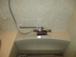 TOTO 浴室水栓 TMGG46E 施工後