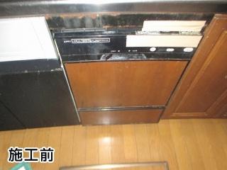 リンナイ 食器洗い乾燥機 RKWR-F402C 施工前