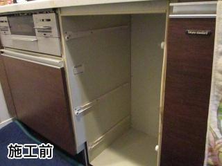 リンナイ  食器洗い乾燥機 RKW-404A-SV-KJ 施工前