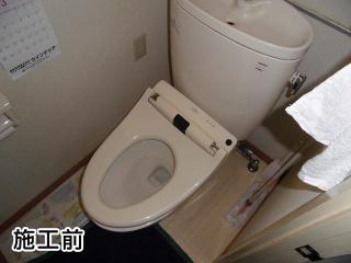 東芝 温水洗浄便座 SCS-T160 施工前