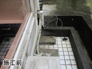リンナイ ガス給湯器 RUF-A2400SAG-A-13A-120V 施工前
