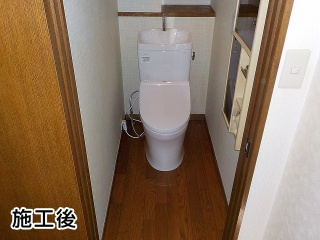 TOTO トイレ TSET-QR7-WHI-1 施工後