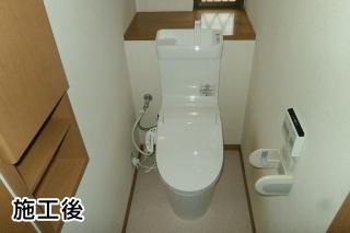 パナソニック トイレ TSET-AVS4-WHI-1 施工後