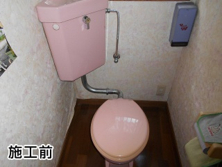 TOTO トイレ TSET-QR9-WHI-1-R 施工前