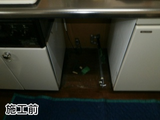 パナソニック 食器洗い乾燥機 NP-45MC6T 施工前
