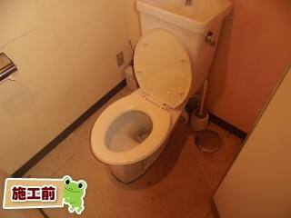 東芝 温水洗浄便座 SCS-T160-KOJI 施工前