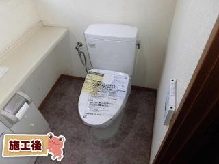TOTO トイレ TSET-QR9-WHI-0 施工後