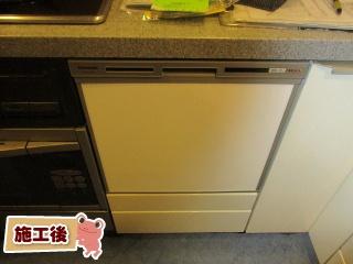 パナソニック 食器洗い乾燥機 NP-45VS7S 施工後