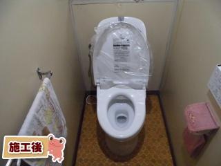 TOTO トイレ TSET-GG3-WHI-1 施工後