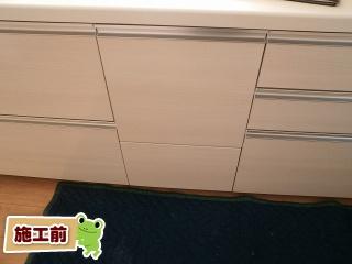 パナソニック 食器洗い乾燥機 NP-45VD7S 施工前