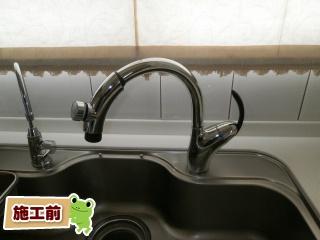 TOTO キッチン水栓 TKN34PBTRR 施工前