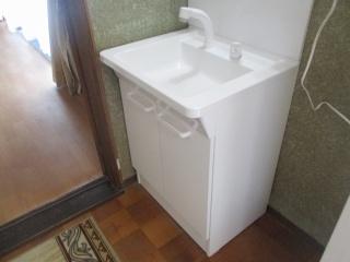 TOTO 洗面化粧台 T-VS-006-60-A 施工後