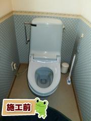 INAX トイレ TSET-AZ10-IVO-0 施工前
